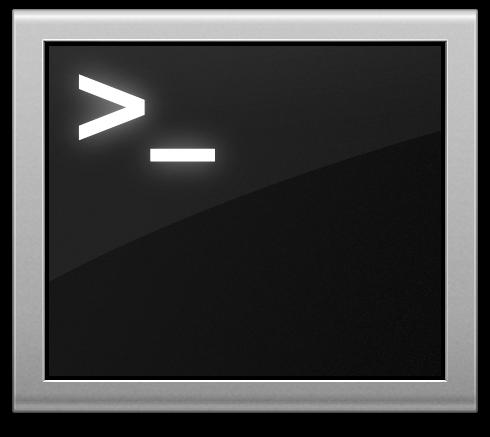 Apple's Terminal App Icon