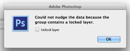 Photoshop unlock layer option