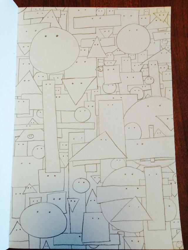Sketch Meditation Day 3 (WIP)